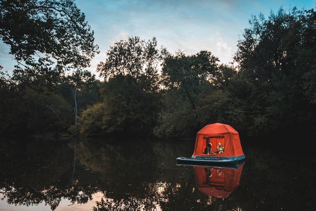 SmithFly Shoal Inflatable Raft Tent