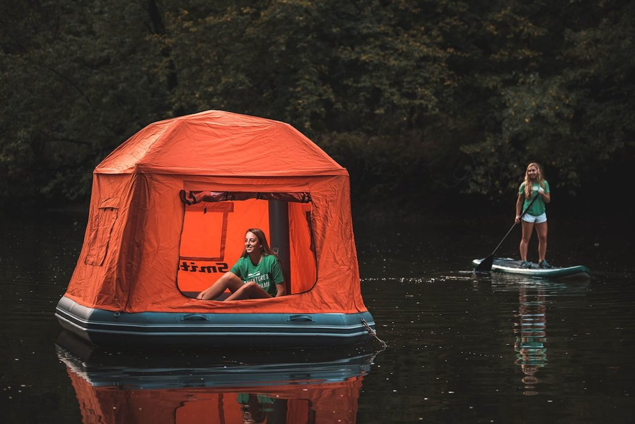 SmithFly Shoal Inflatable Raft Tent loading=