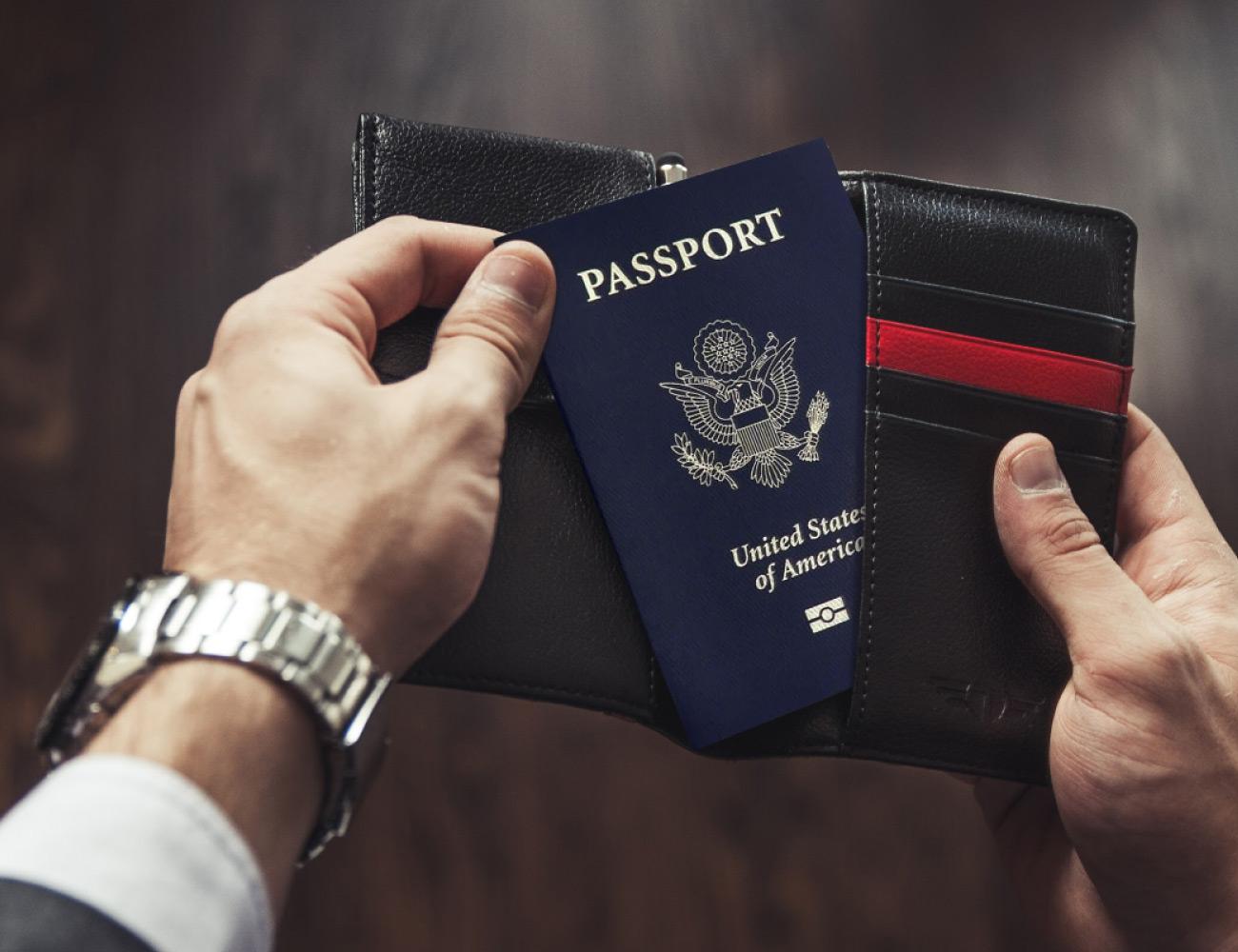 Talonport 8-Feature Passport Wallet