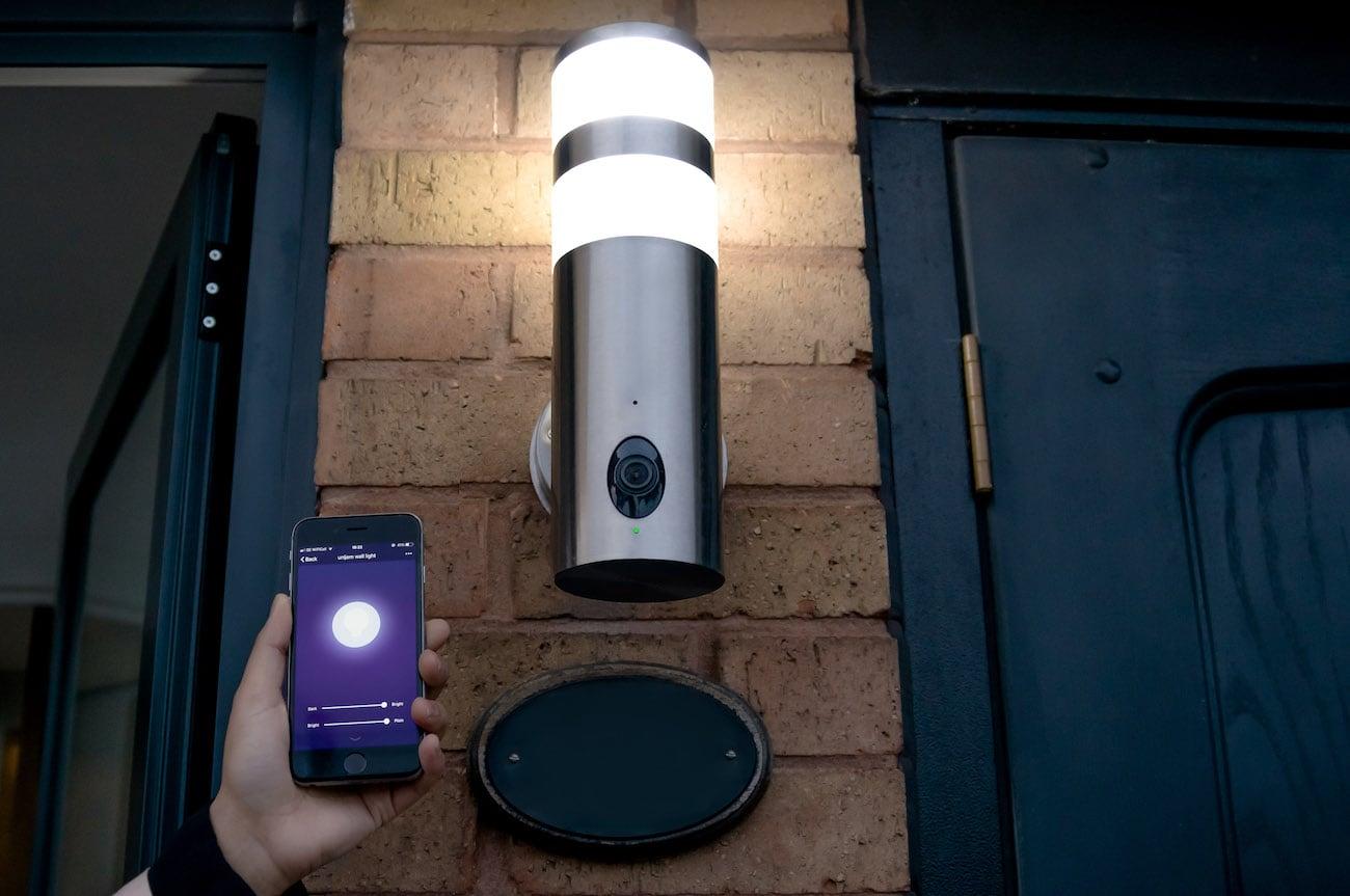 Unijem 180-Degree HD Wall Light Security Camera Gadget Flow