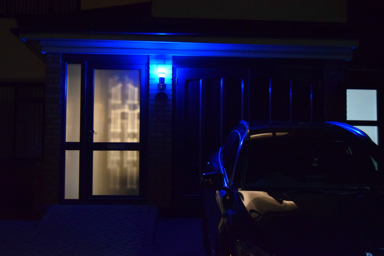 Unijem 180-Degree HD Wall Light Security Camera