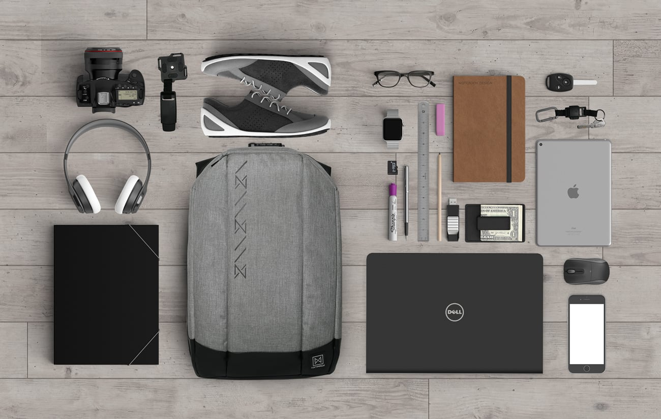 Urbanvibe Highly Functional Anti-Theft Backpack
