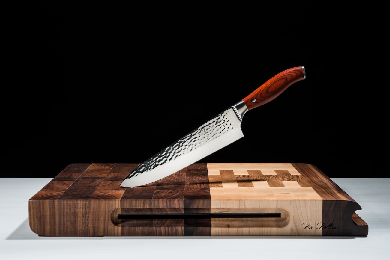 Vie Belles Handcrafted Chef's Knives