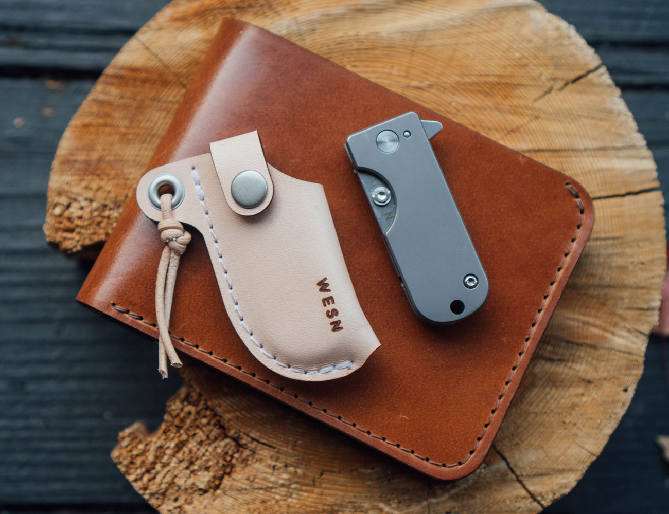 WESN Micro Blade EDC Pocket Knife