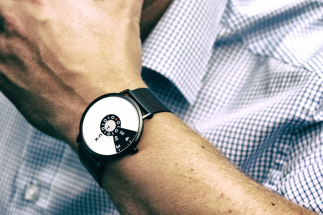 Widdenburg Minimalist Tick Tock Watch
