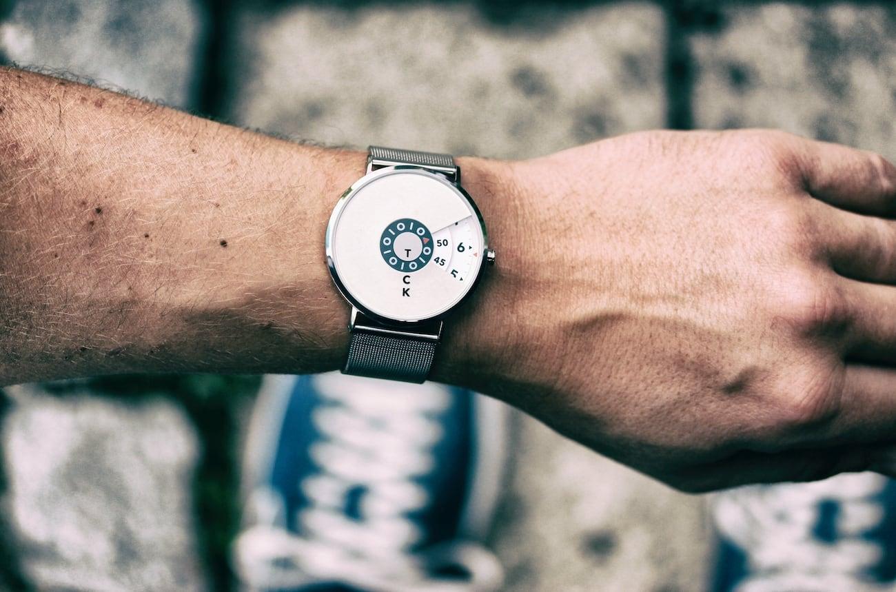 Widdenburg Minimalist Tick Tock Watch
