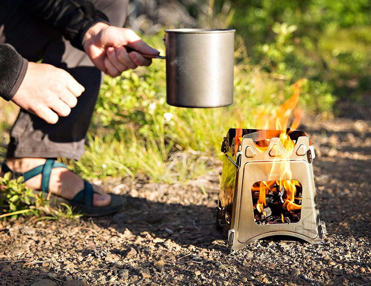 WoodFlame Portable Wood Burning Stove