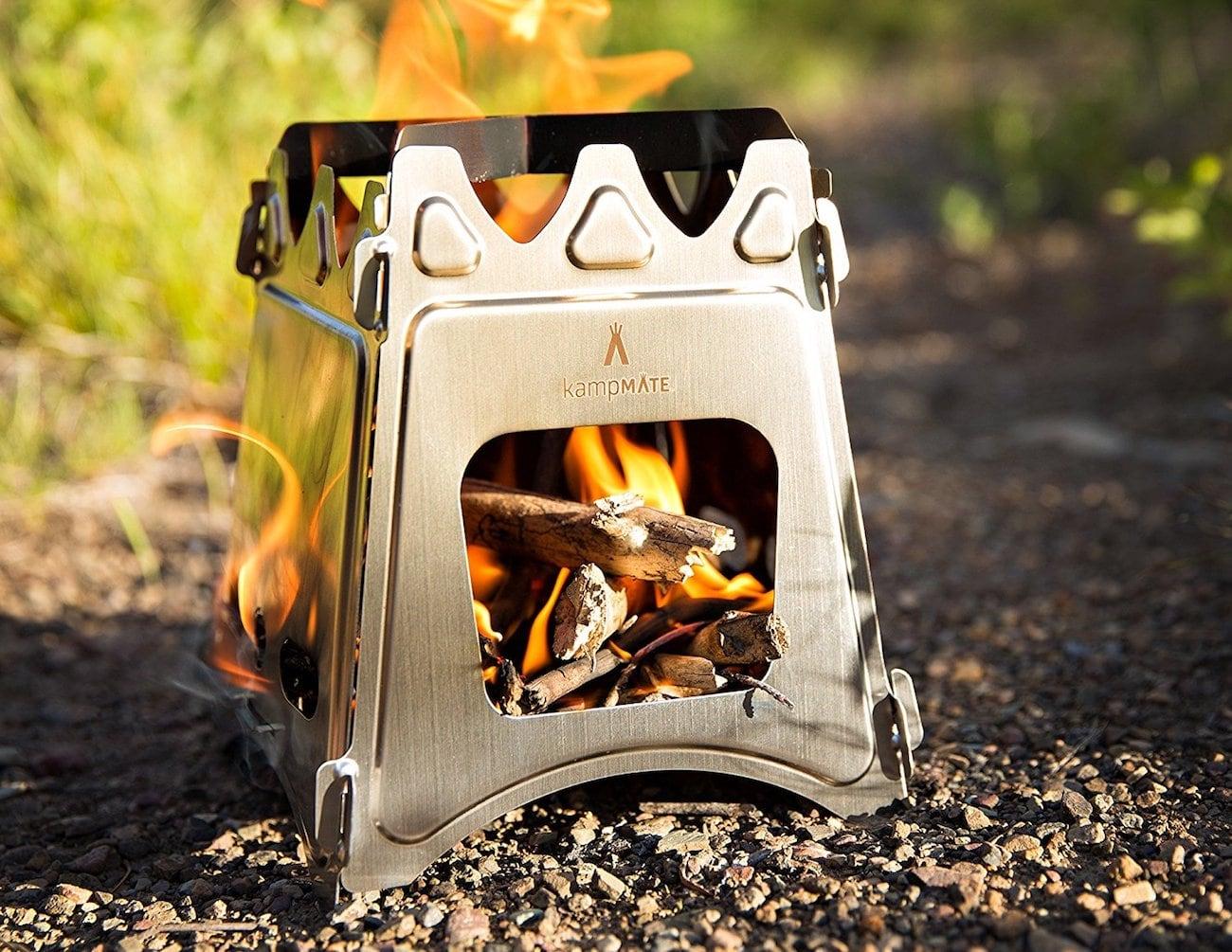 WoodFlame Portable Wood Burning Stove