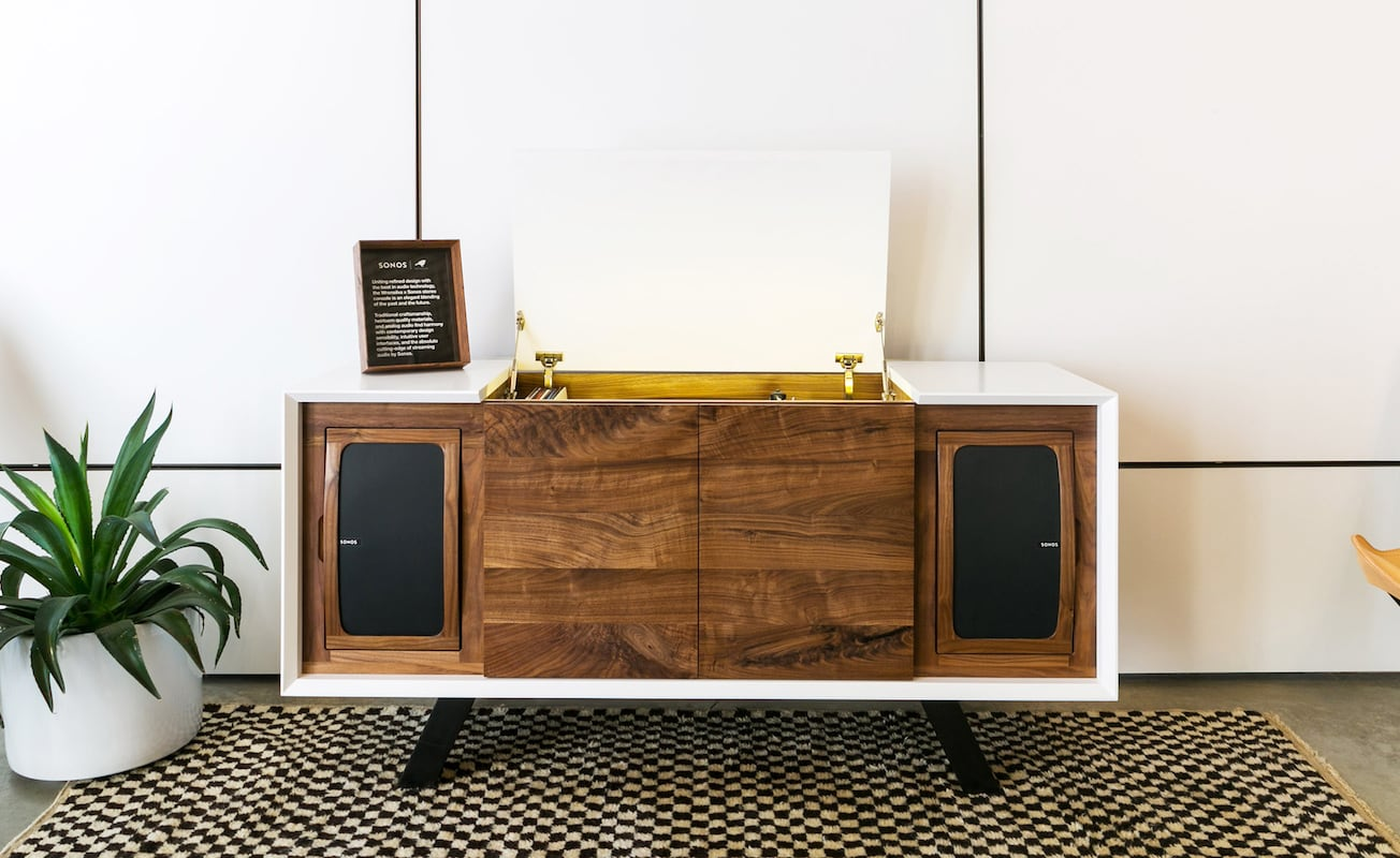 Wrensilva Sonos Edition Luxury Record Console