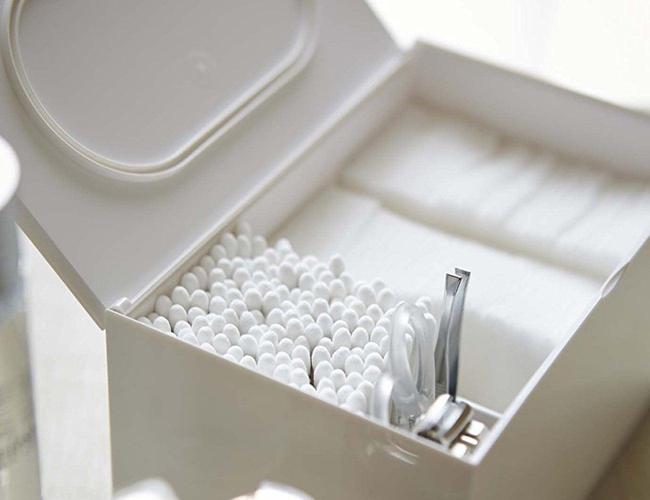 YAMAZAKI Veil Cotton Storage Case