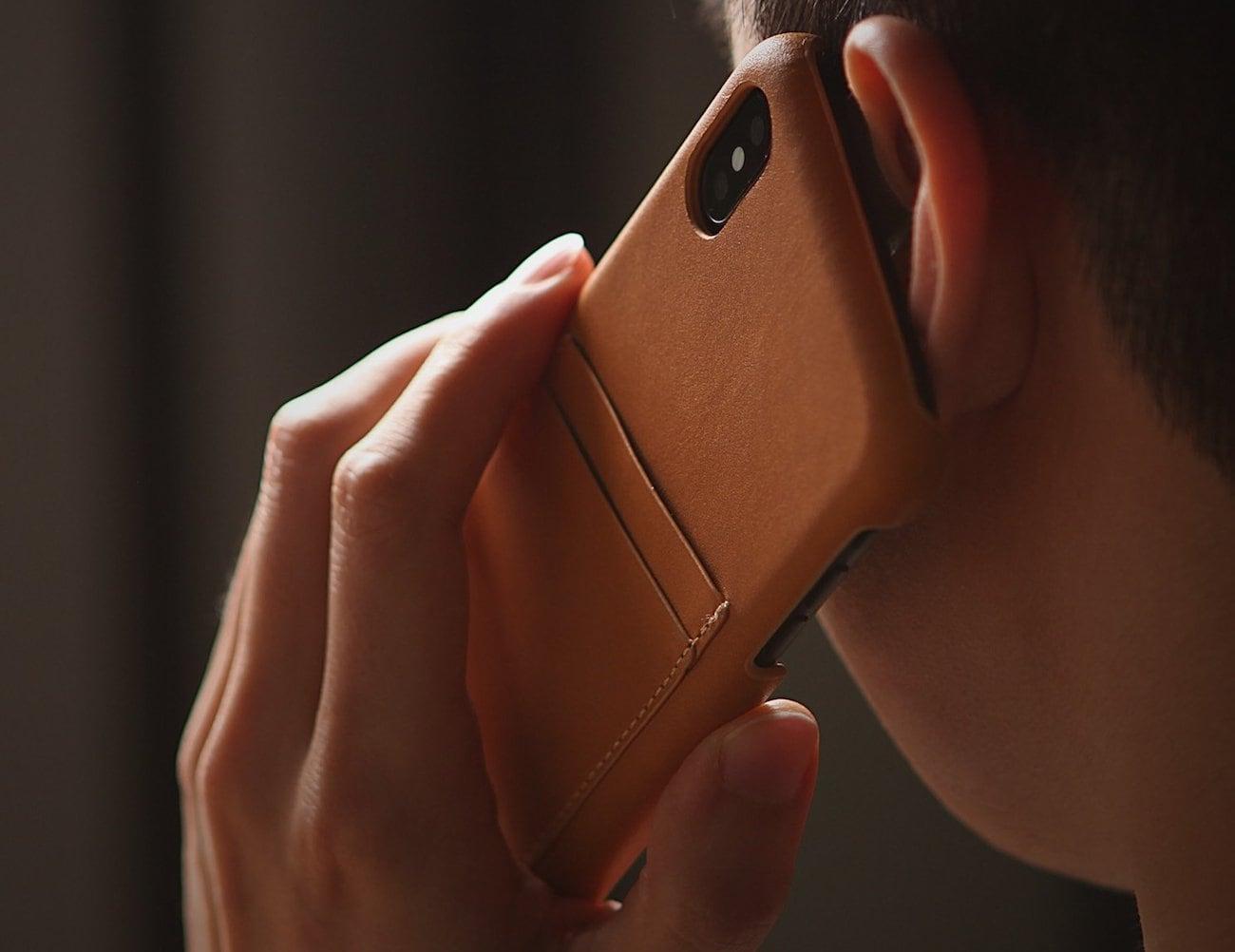 elago Italian Leather iPhone X Case