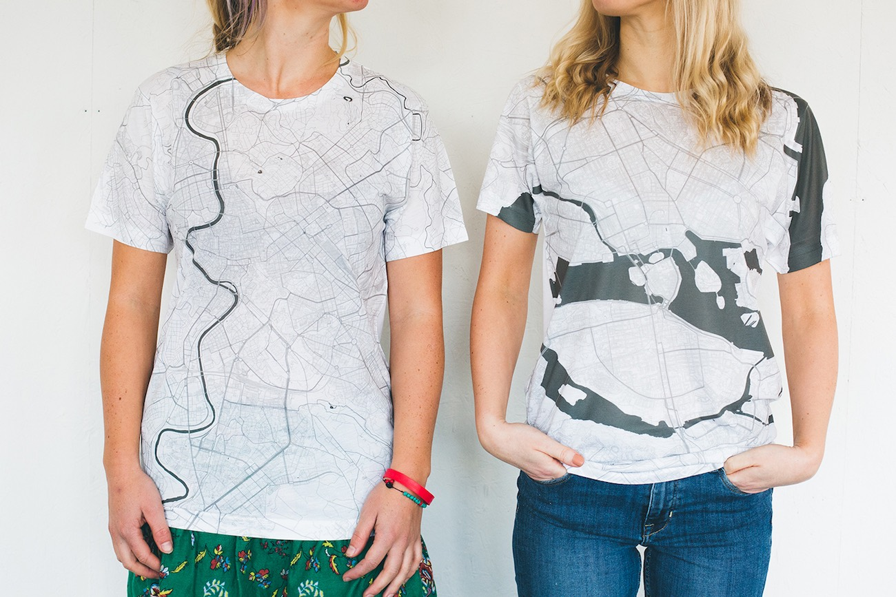 Citee City Maps T-Shirts
