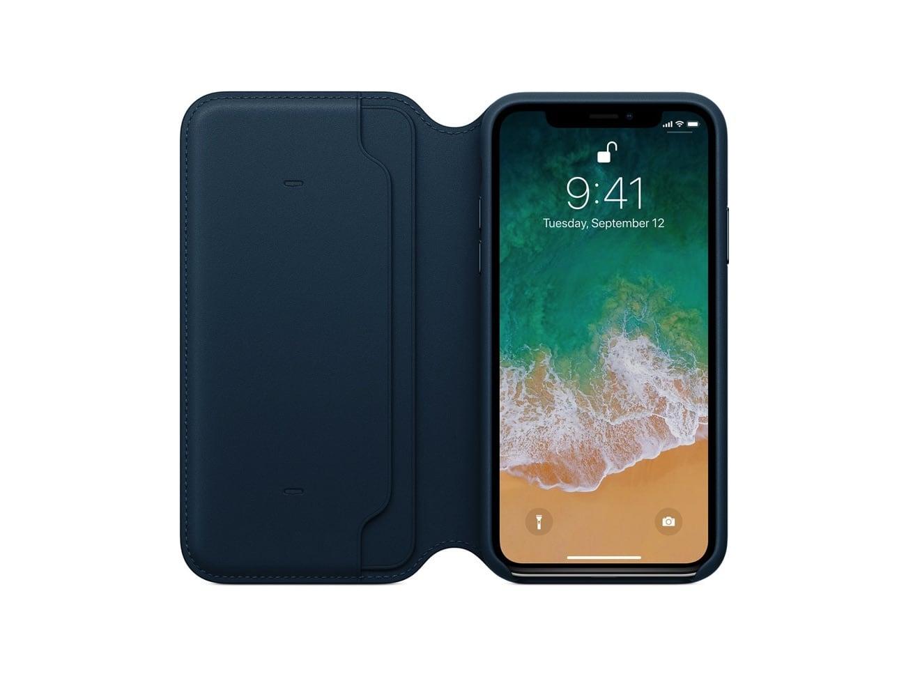 Leather Folio Case Iphone