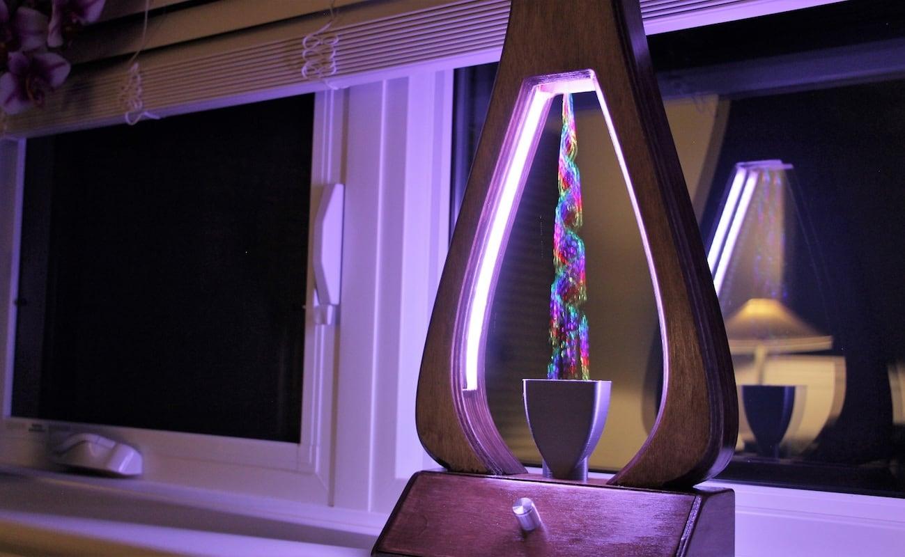 Aquarius Water Manipulating Fountain Lamp