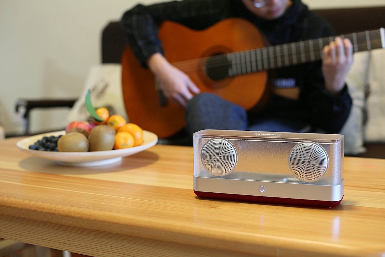 Arisen+WindBox+R+Transparent+Bluetooth+Speaker