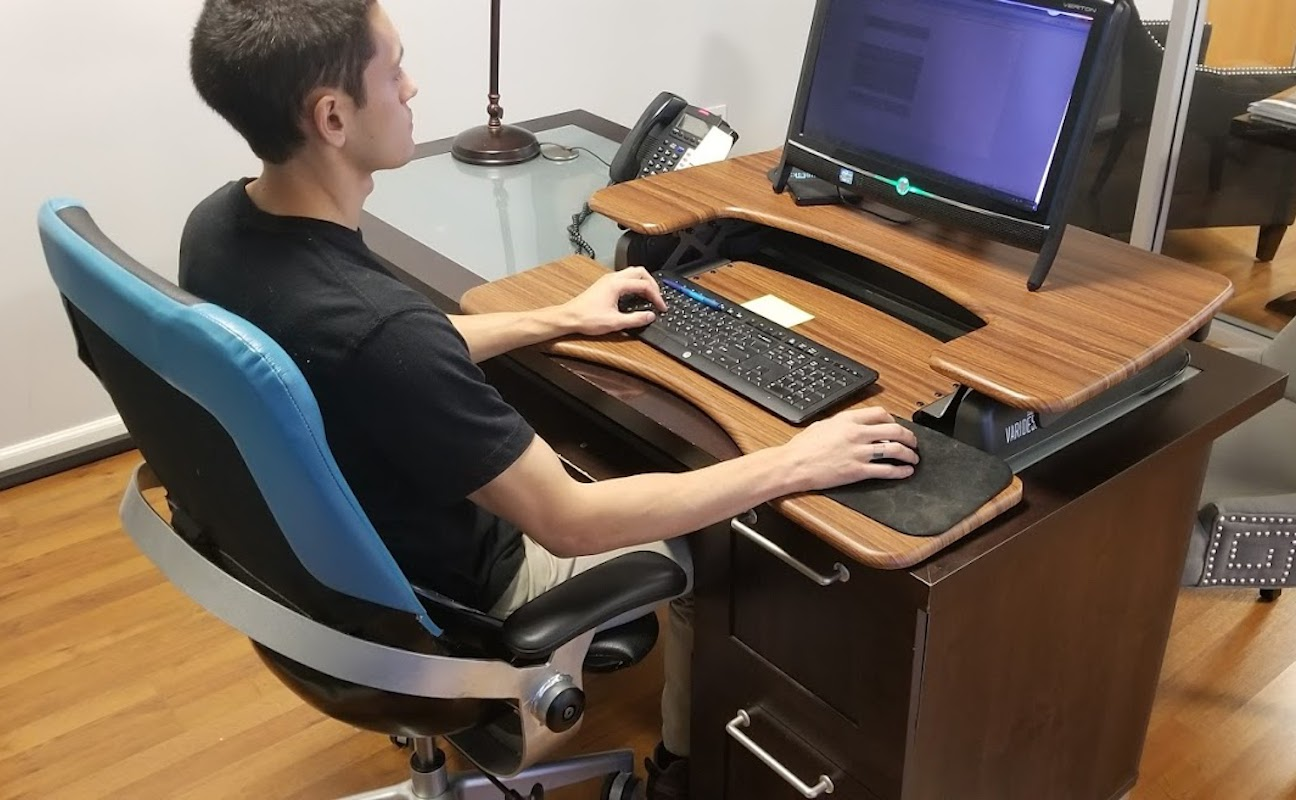 BackStrong Sit-In-Motion Technology Ergonomic Chair