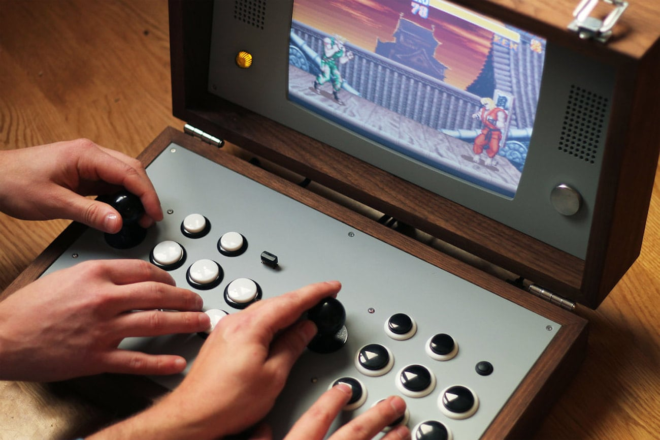 Cary42 Portable Arcade Gaming Console
