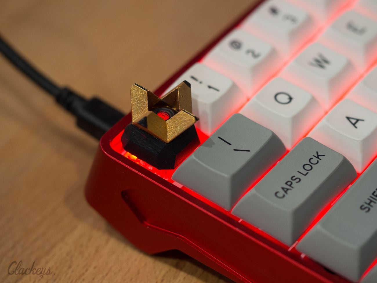 Clackeys Custom Designed Keycaps