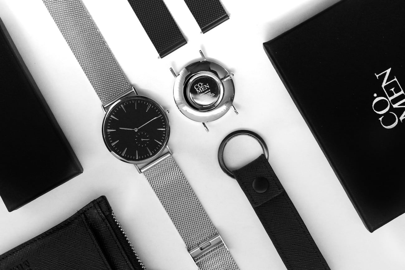 Co. Men CM Classic Minimalist Timepiece