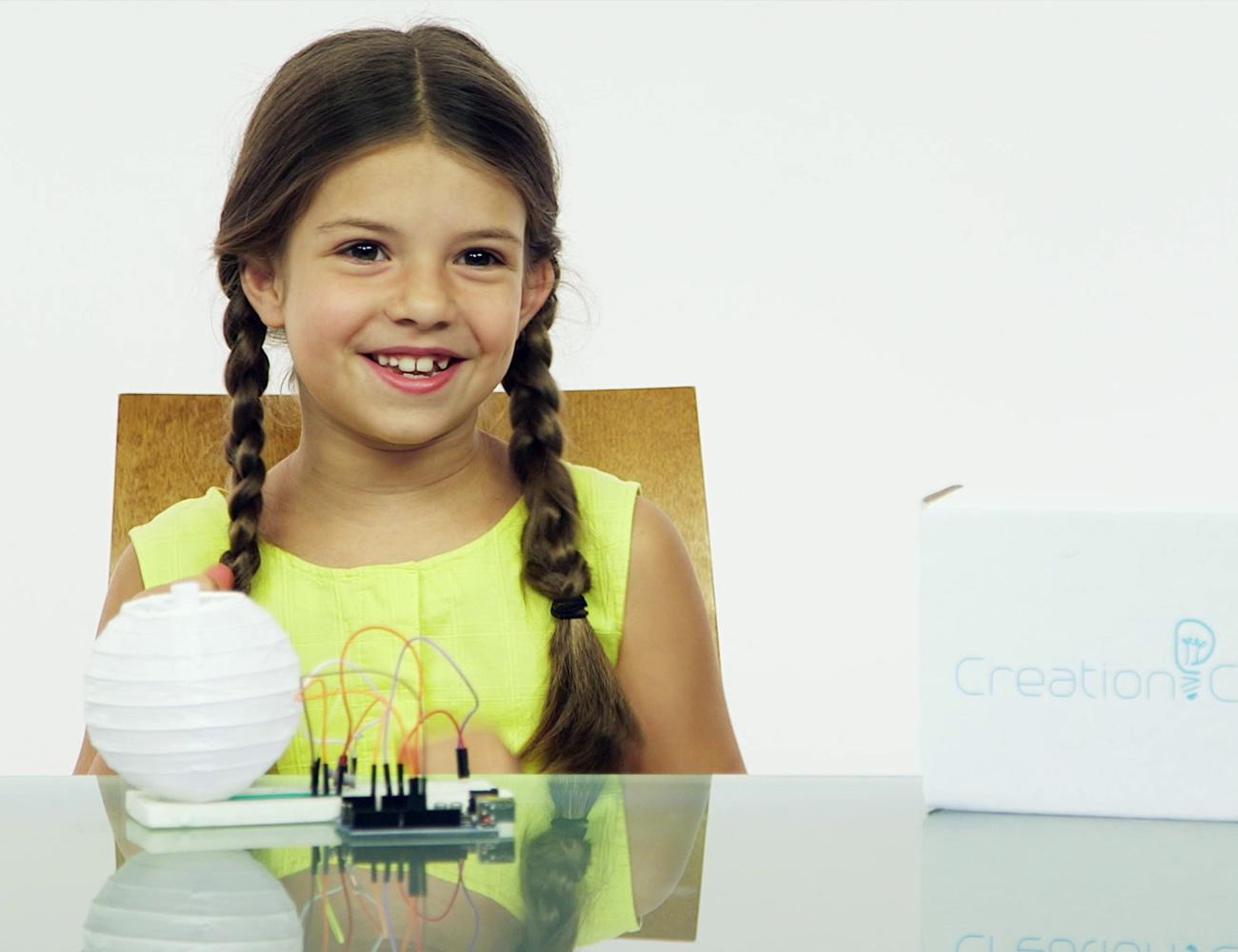 Creation Crate AR Electronics Education Platform