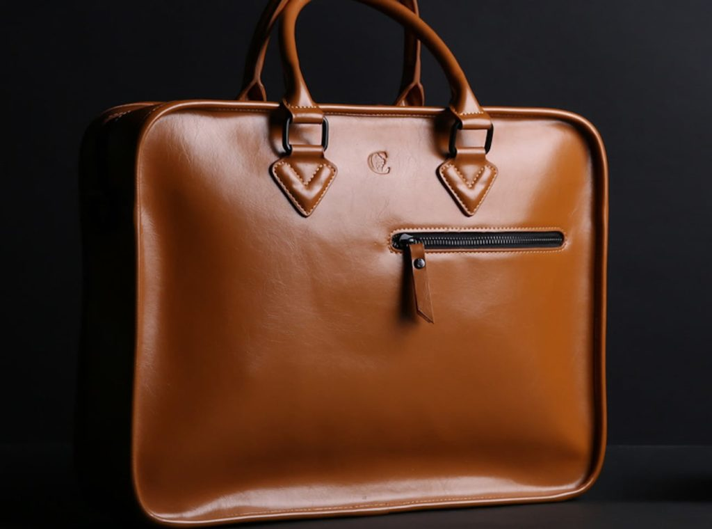 Leather+Laptop+Briefcase+Bag