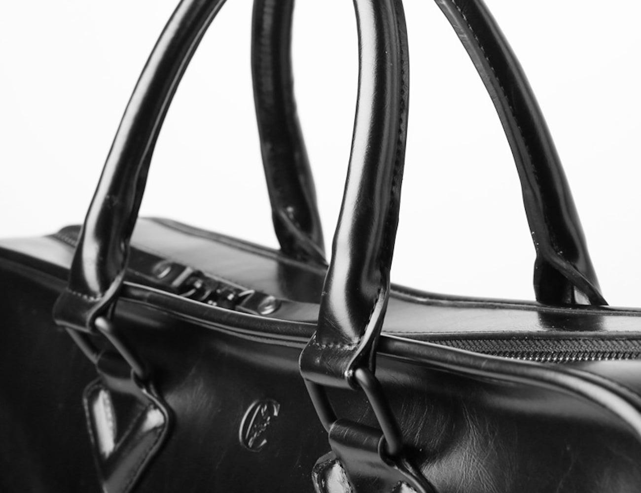 Leather Laptop Briefcase Bag