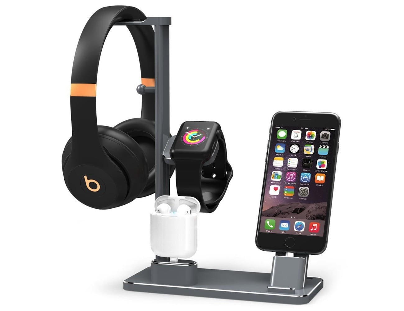 DHOUEA 6-in-1 Apple Watch Charging Station