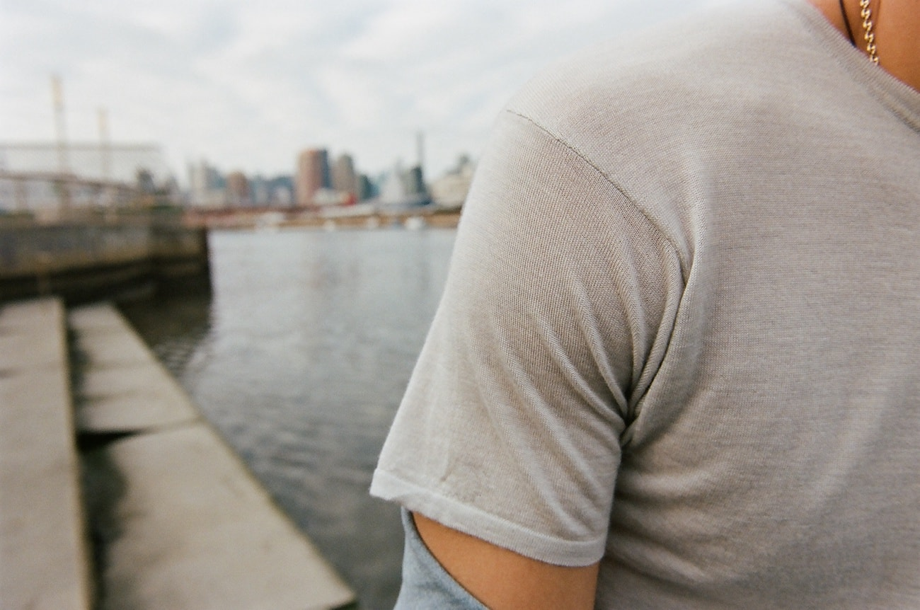 Dropellabs Stain-Proof Cashmere T-Shirt