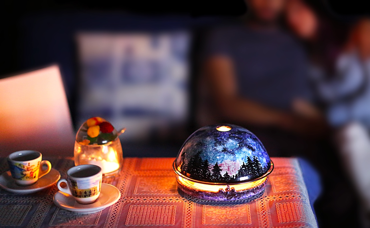 Egloo Personal Candle Fireplace