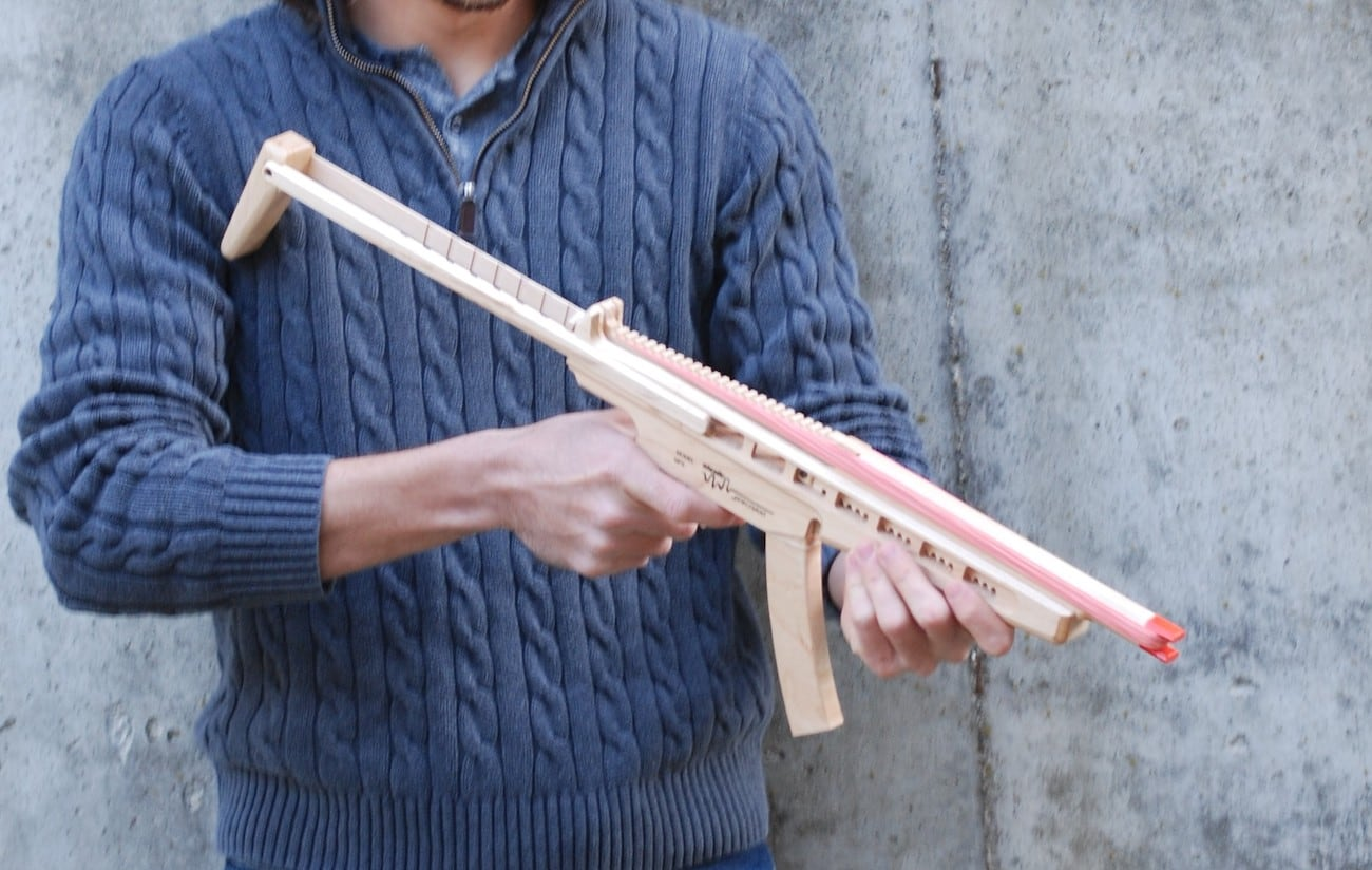 Elastic Precision High-Quality Rubber Band Guns
