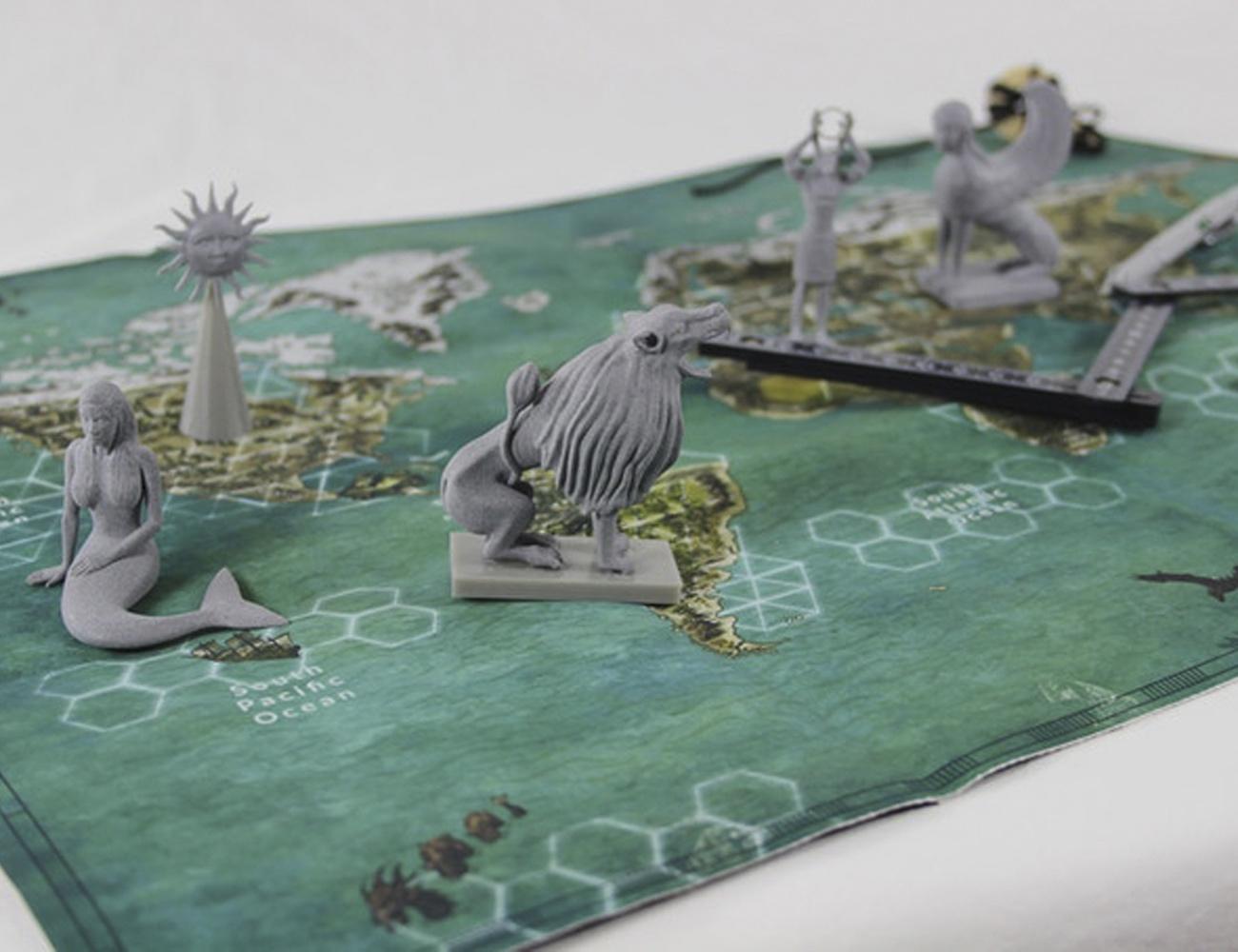 Enigma Box Adventure Board Game