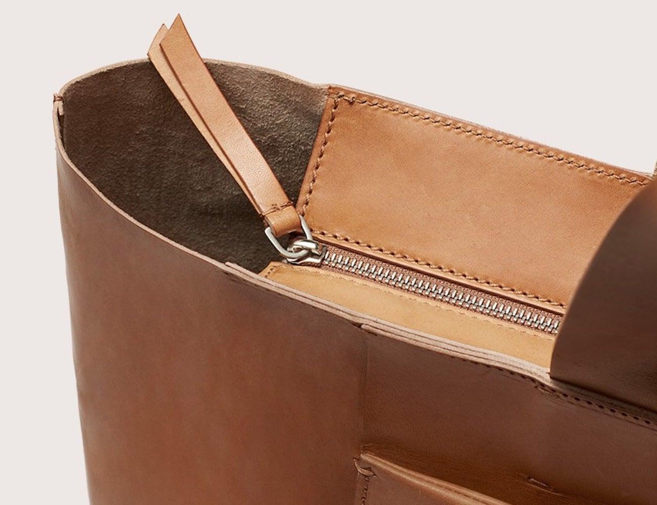 FIET Large Tote Bag Semi Cordovan