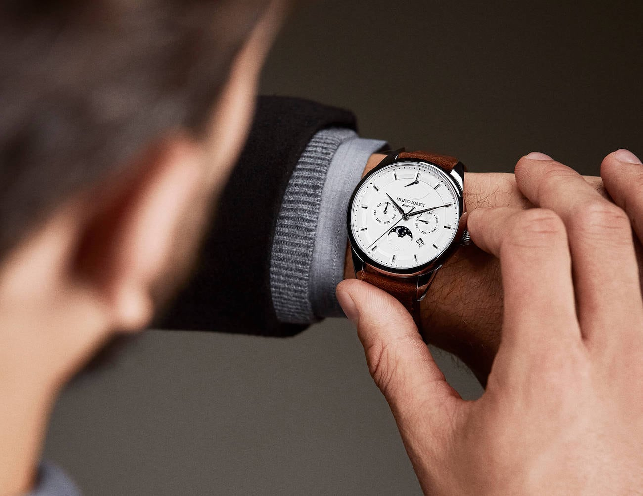 Filippo Loreti Smart Luxury Watch