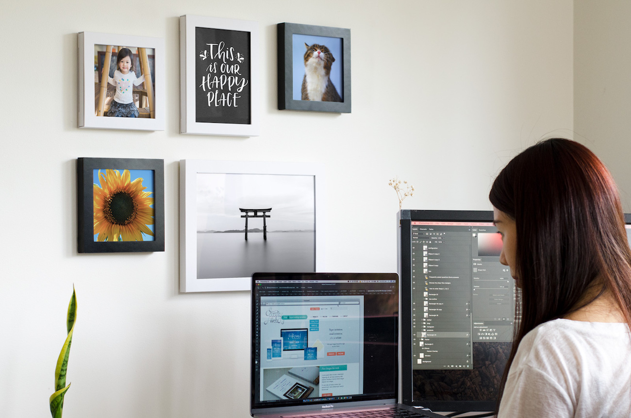 Flikframe Customizable Photo Frames