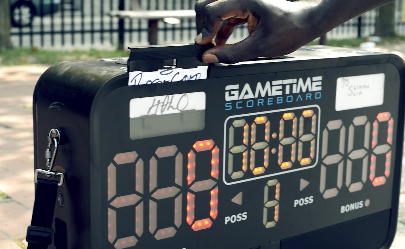 Gametime Portable Scoreboard and Audio Player