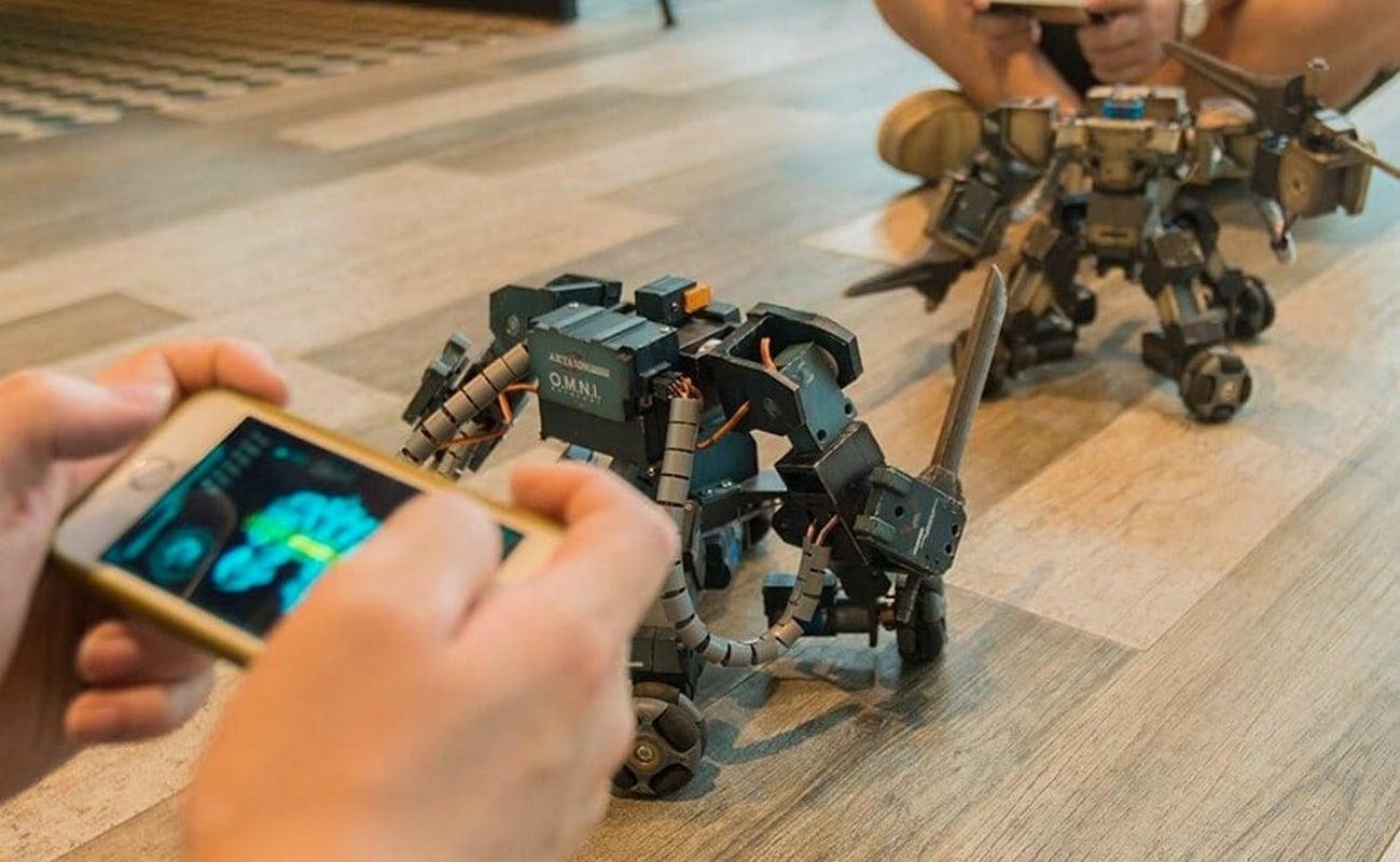 Ganker Customizable Fighting Robot