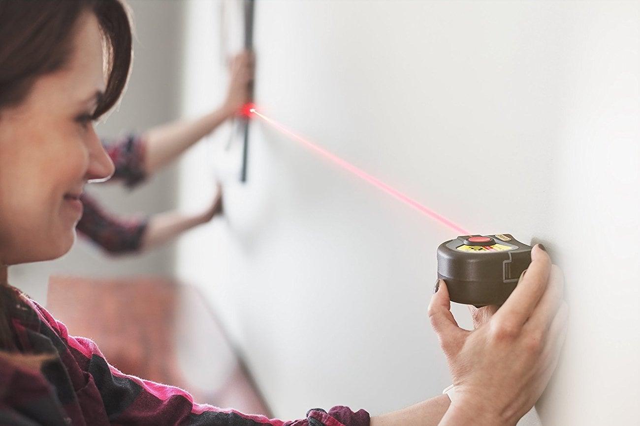 General Tools 2-in-1 Laser Tape Measure
