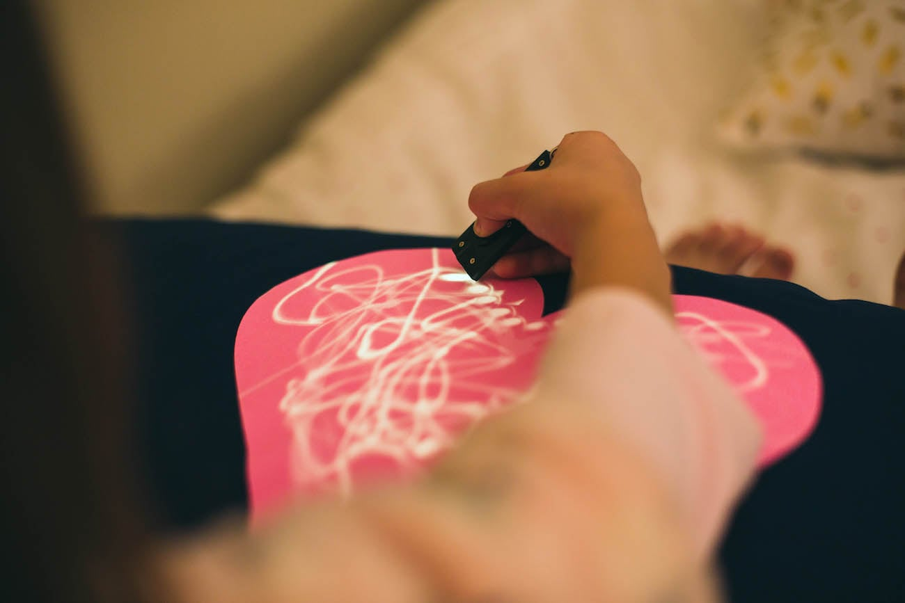 Glow Doodle Interactive Drawing Pillowcase