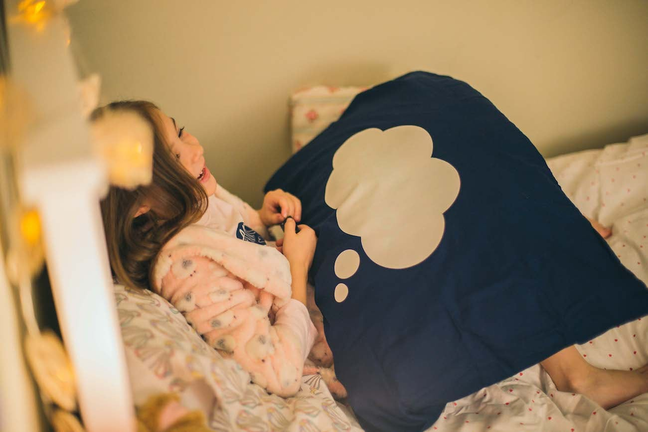 Glow Doodle Interactive Drawing Pillowcase