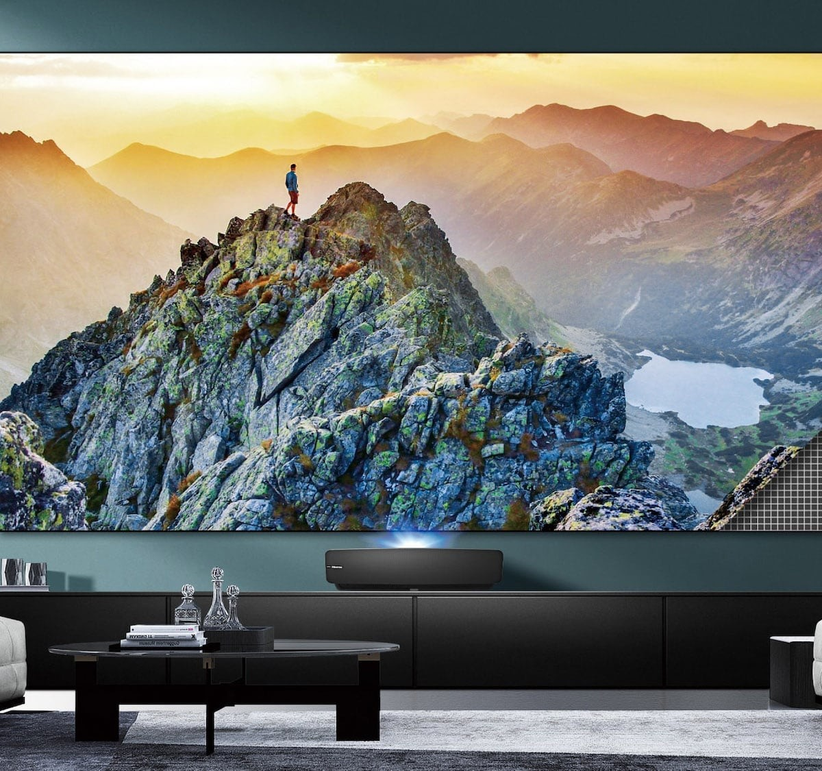 Hisense L5 Series Smart Laser TV boasts a 100″ 4K UHD display