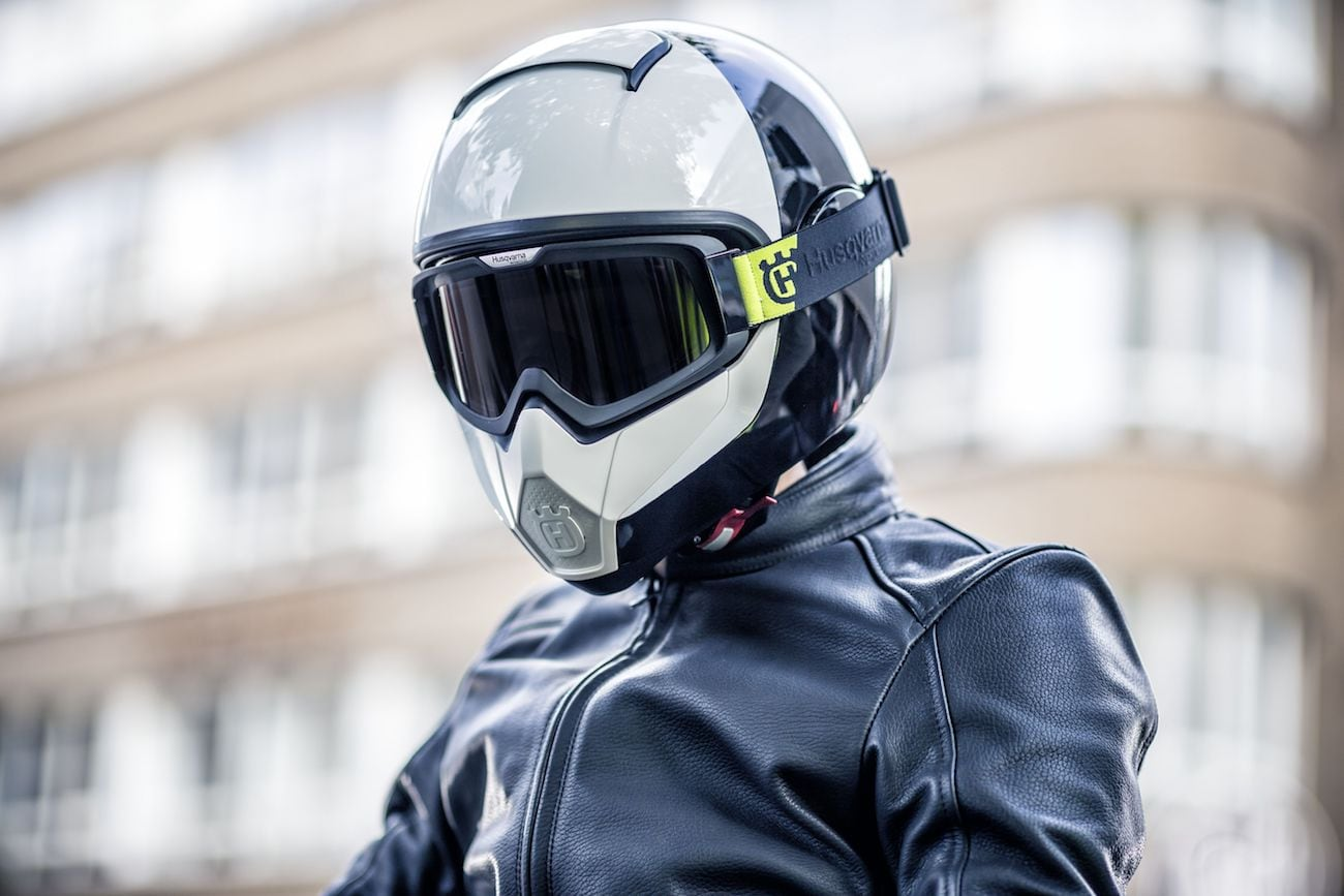 Husqvarna Pilen Ventilated Motorcycle Helmet loading=