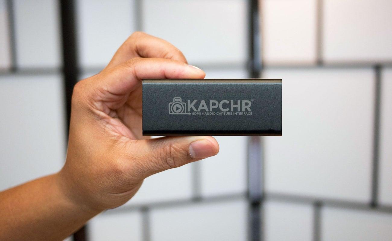Kapchr Live Stream Dslr Webcam Device 187 Gadget Flow