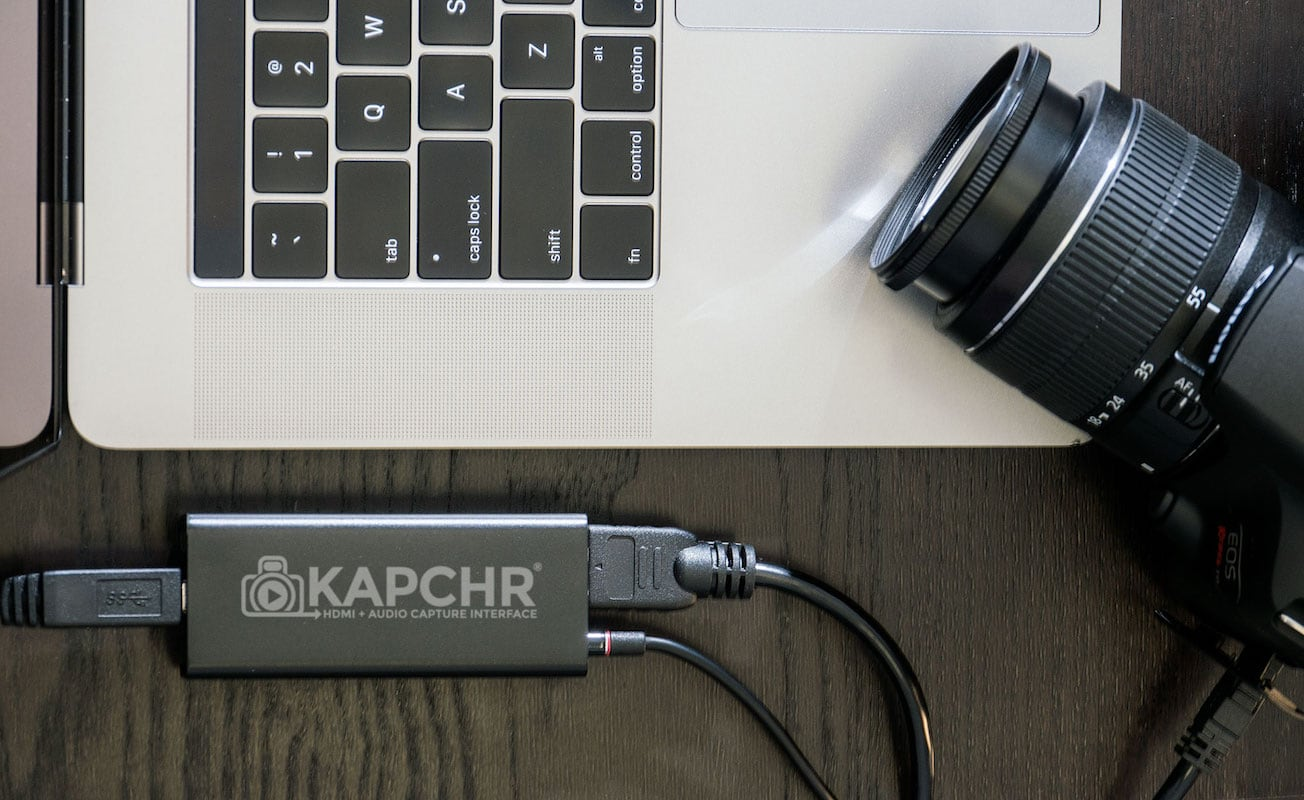KAPCHR Live Stream DSLR Webcam Device