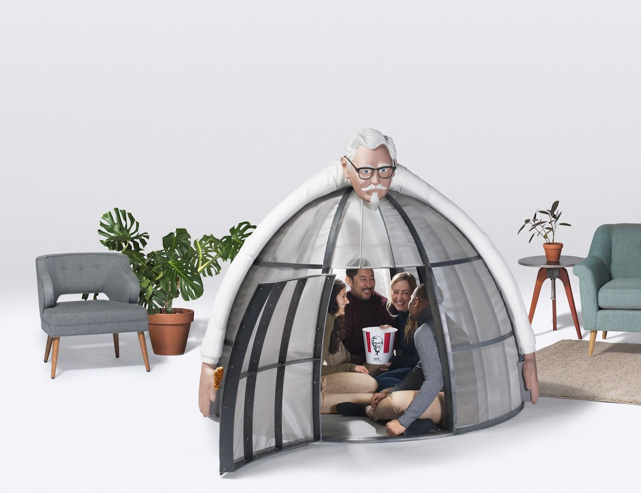 KFC+Internet+Escape+Pod