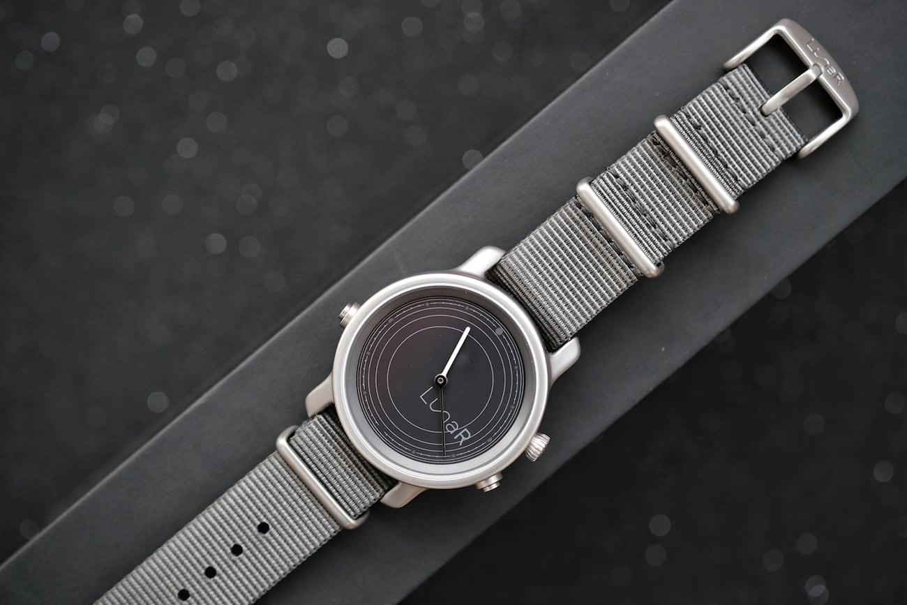 LunaR Solar Powered Smartwatch