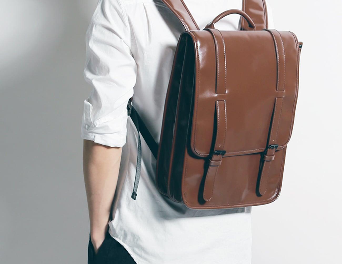 Luxury+Flannel+MacBook+Backpack