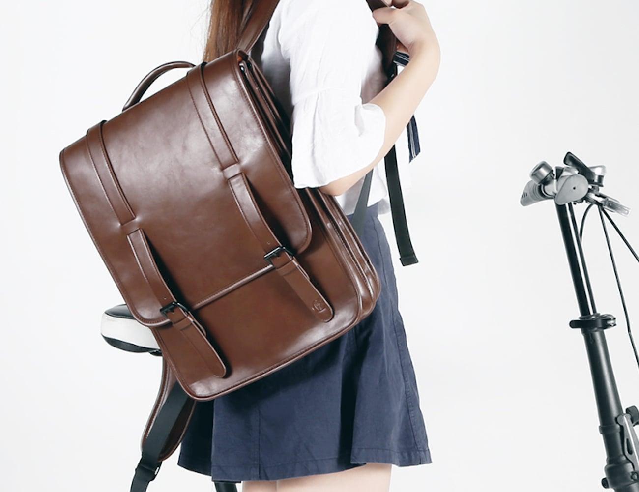 Luxury Flannel MacBook Backpack