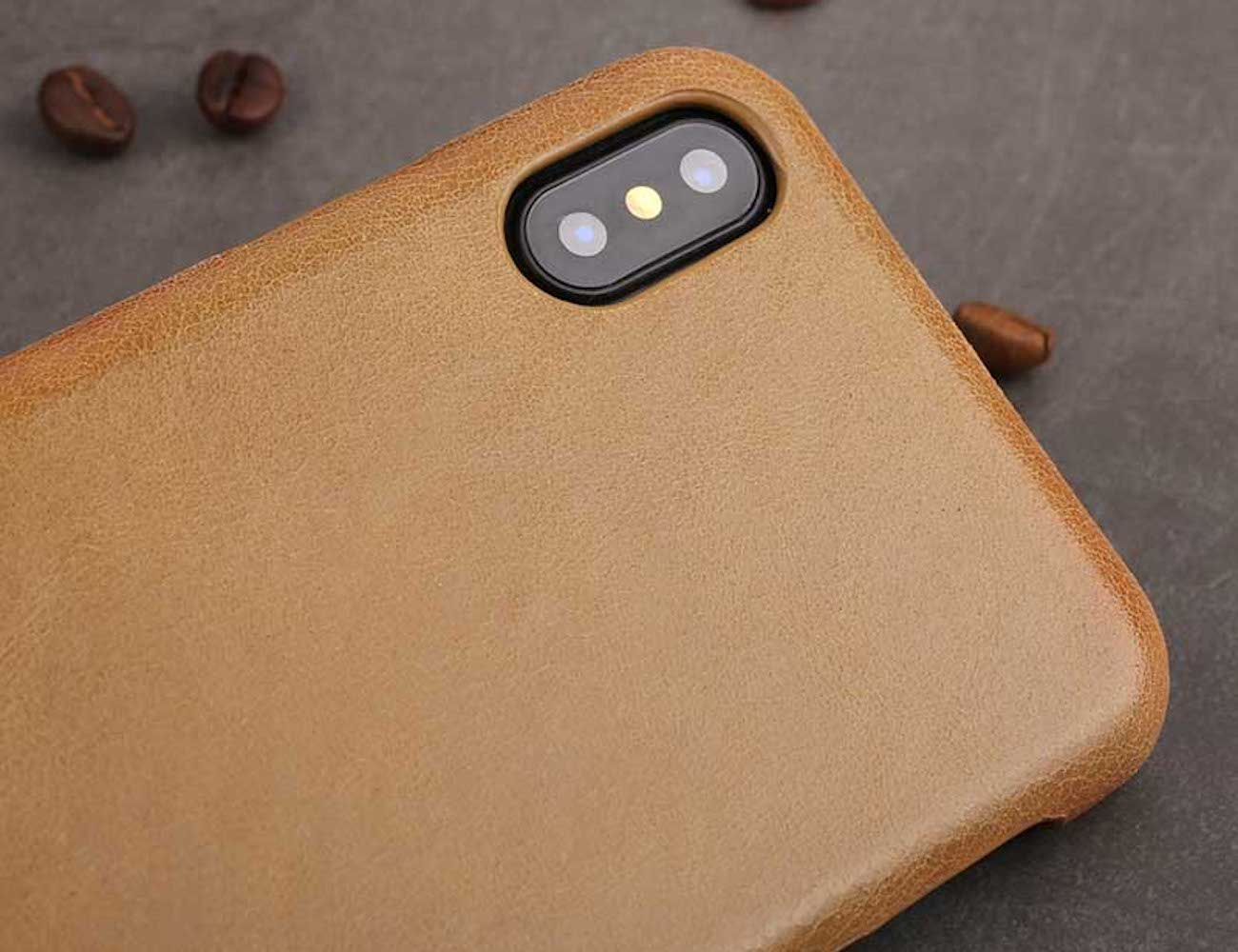 Luxury Leather iPhone X Case