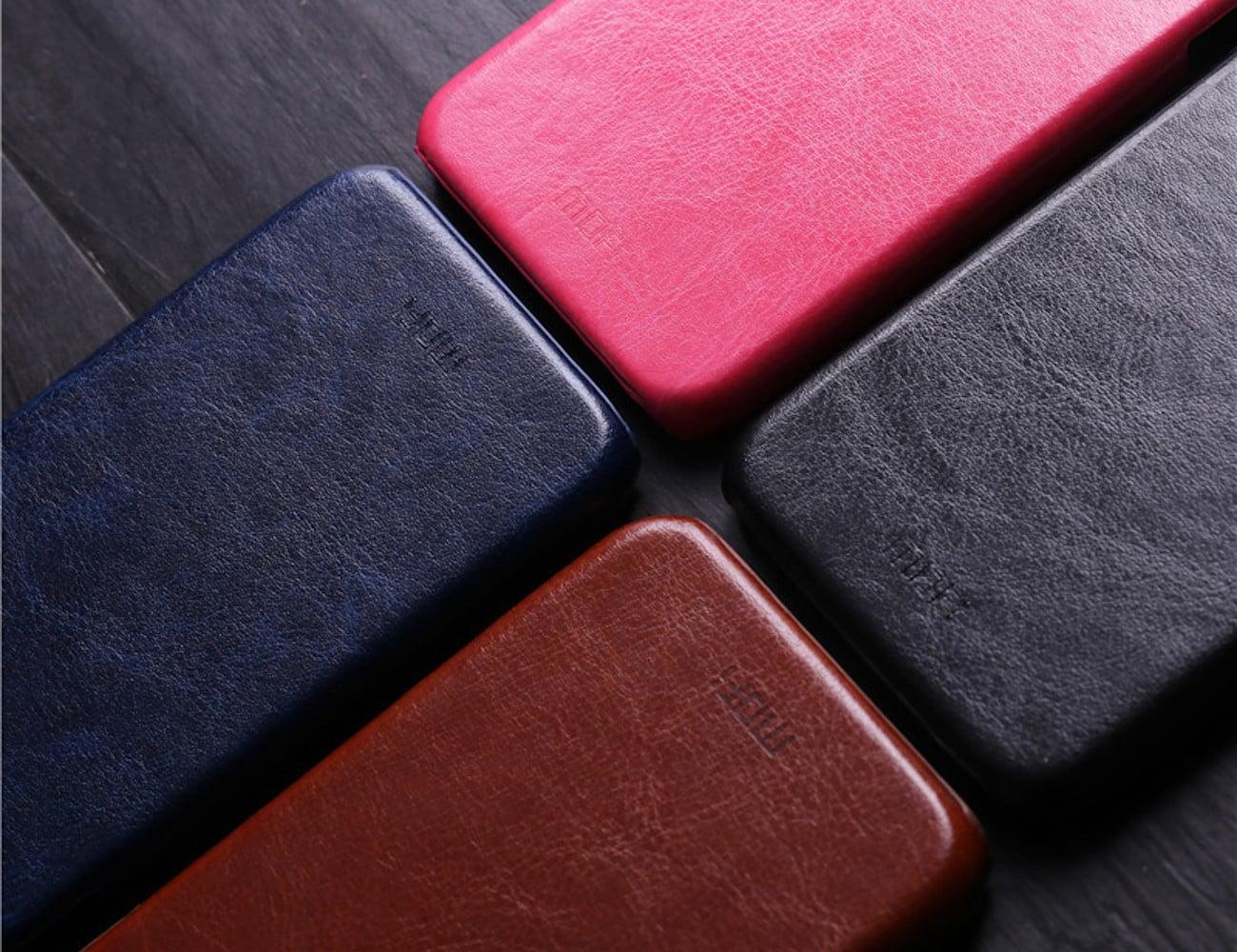 Luxury PU Leather iPhone X Case