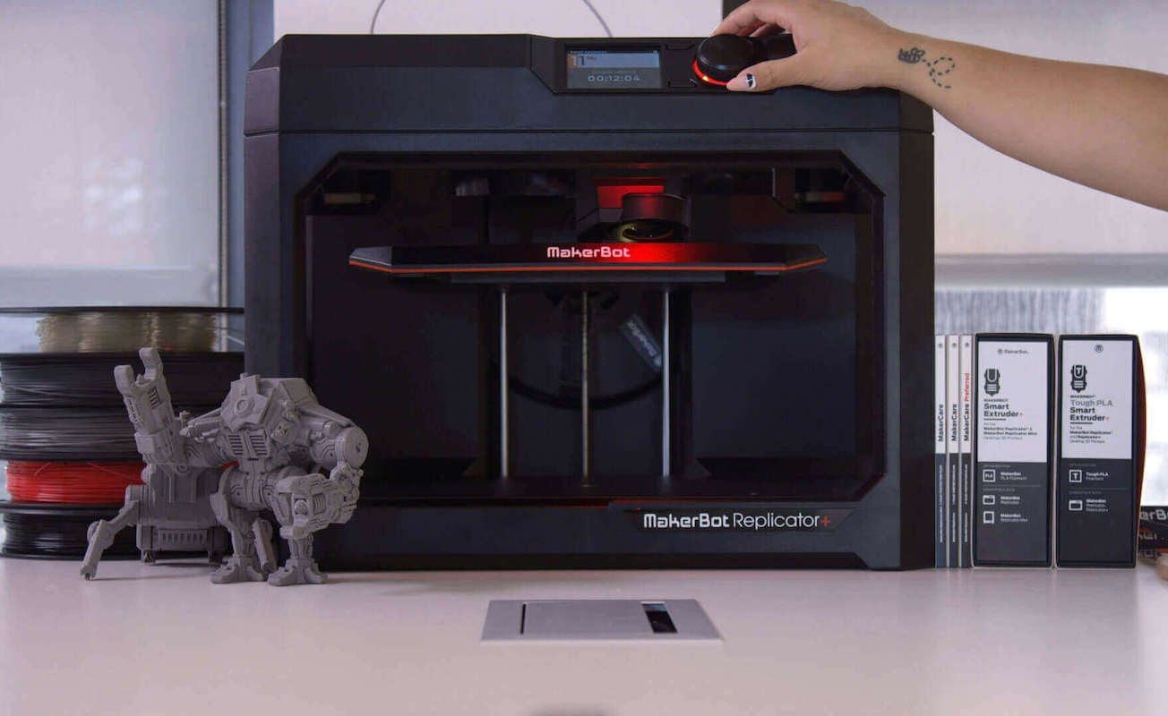 MakerBot Replicator+ Fast Desktop 3D Printer